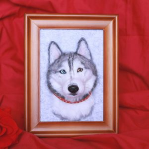 personalized dog memorial portraits-no feet