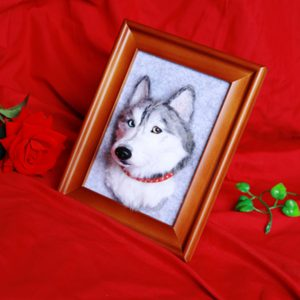 custom dog portraits no feet