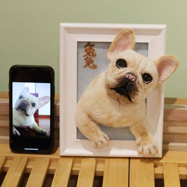 personalized dog canvas